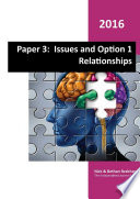 Paper 3   Issues and Option 1 Relationships