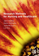 Research Methods for Nursing and Healthcare