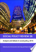 Social Policy Review 26 Book