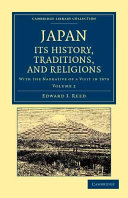 Japan  Its History  Traditions  and Religions