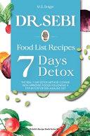 Dr Sebi Food List Recipes