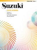 Suzuki Flute School Piano Acc., Volume 3