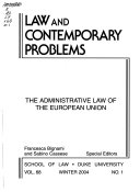 The Administrative Law Of The European Union