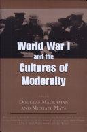 World War i and the Cultures of Modernity [Pdf/ePub] eBook