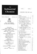 The Industrial Chemist
