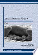 Advanced Materials Forum VI