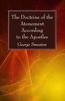 The Doctrine of the Atonement According to the Apostles [Pdf/ePub] eBook