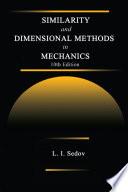 Similarity And Dimensional Methods In Mechanics Book PDF