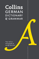 German Dictionary and Grammar  Two Books in One
