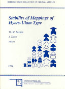 Stability of Mappings of Hyers Ulam Type