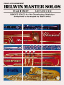 Belwin Master Solos for Flute  Easy