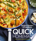 Better Homes and Gardens Quick Homemade