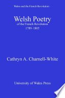Welsh Poetry of the French Revolution  1789 1805