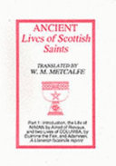 Ancient Lives of Scottish Saints  Ninian