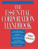 The Essential Corporation Handbook