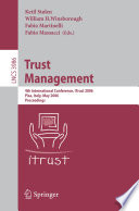Trust Management Book