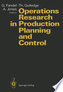 Operations Research in Production Planning and Control