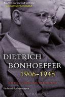 Dietrich Bonhoeffer 1906-1945 [Pdf/ePub] eBook