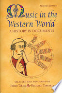 Cover of Music in the Western World