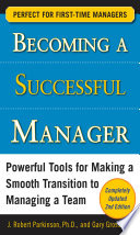 Becoming a Successful Manager  Second Edition