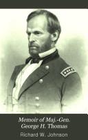 Memoir of Maj.-Gen. George H. Thomas