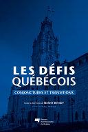 Pdf Les défis québécois Telecharger