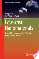 Low Cost Nanomaterials Book PDF