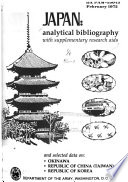 Japan Analytical Bibliography With Supplementary Research Aids And Selected Data On Okinawa Republic Of China Taiwan Republic Of Korea