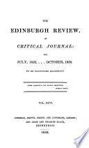 THE EDINBURGH REVIEW  OR CRITICAL JOURNAL  FOR JULY  1852        OCTOBER  1852