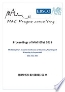 Proceedings of MAC ETeL 2015