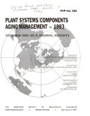 Plant Systems components Aging Management