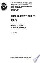 Tidal Current Tables