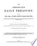 The Christian S Daily Treasury Edited By J H Assisted By Eminent Contributors One Hundred And Thirty Eighth Edition Of The Altar Of The Household With Illustrations