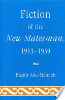 Fiction Of The New Statesman 1913 1939