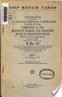 Hearings  May 13 and 15  1944  pt  2  Hearings  May 25 26  1944  pt  3  Hearings  May 31  June 1 2  1944  pt  4  Hearings  Nov  28 30  1944