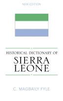 Historical Dictionary of Sierra Leone [Pdf/ePub] eBook