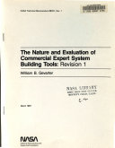 The Nature and Evaluation of Commercial Expert System Building Tools, Revision 1