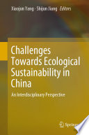 Challenges Towards Ecological Sustainability In China