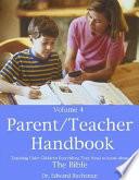 Parent Teacher Handbook