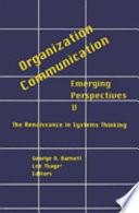 Organization  communication Book