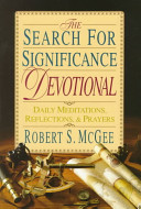 The Search for Significance Devotional Book