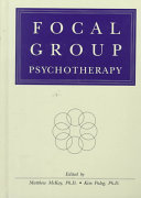 Focal Group Psychotherapy Book