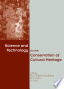 Science and Technology for the Conservation of Cultural Heritage Book