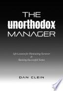 The Unorthodox Manager