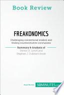 Book Review  Freakonomics by Steven D  Levitt and Stephen J  Dubner