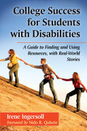 College Success for Students with Disabilities