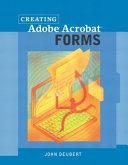 Creating Adobe Acrobat Forms