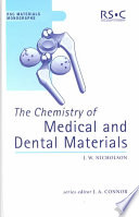 The Chemistry Of Medical And Dental Materials Book PDF