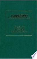 Leadership, Beyond Establishment Views