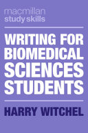 Writing for Biomedical Sciences Students